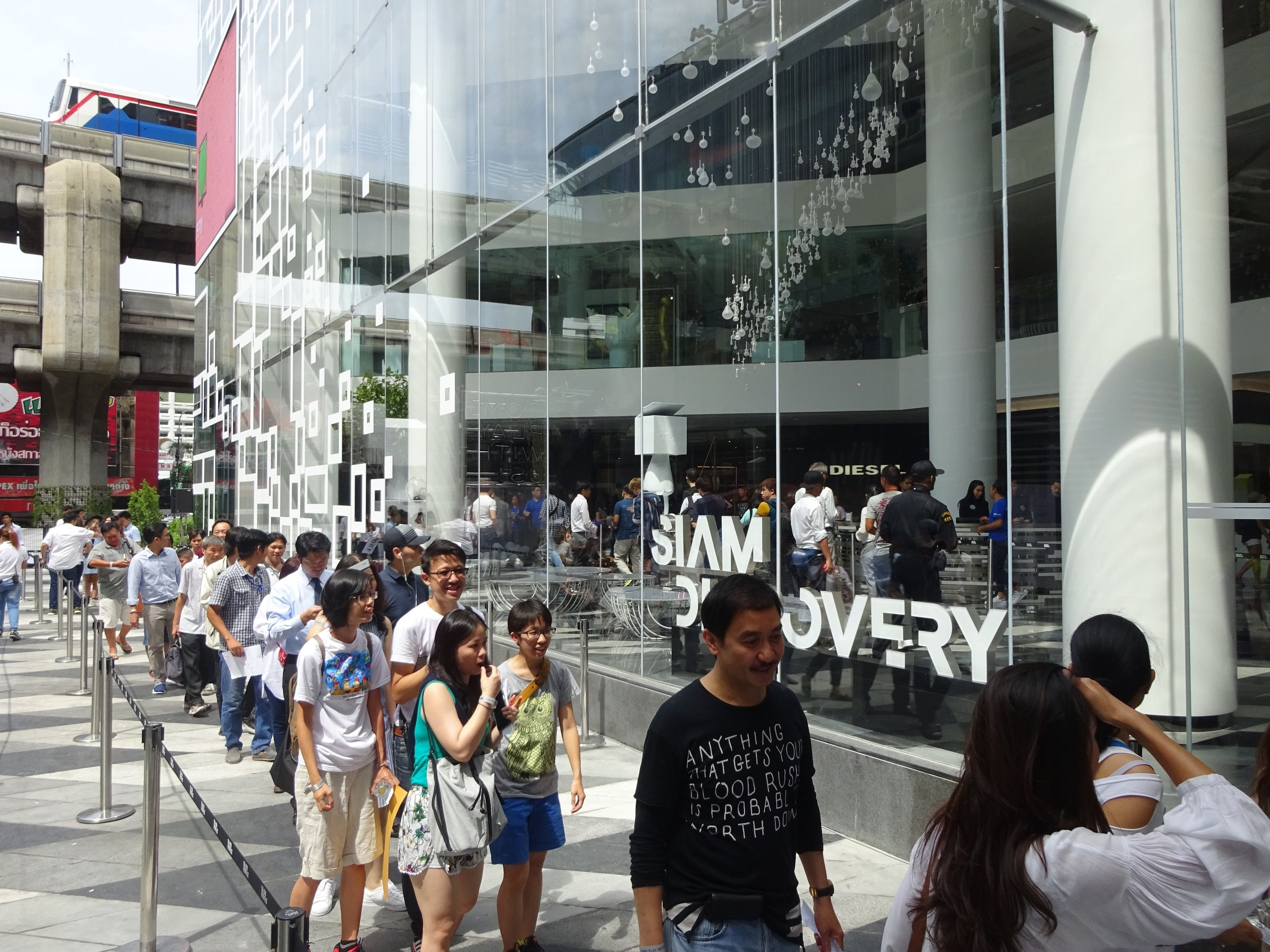 c1cde9151c9f9 Siam Discovery, central Bangkok's first mall opening in a year ...