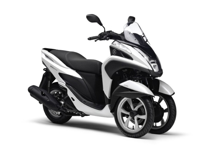 Yamaha Debuting 3 Wheeled Scooter In Thailand