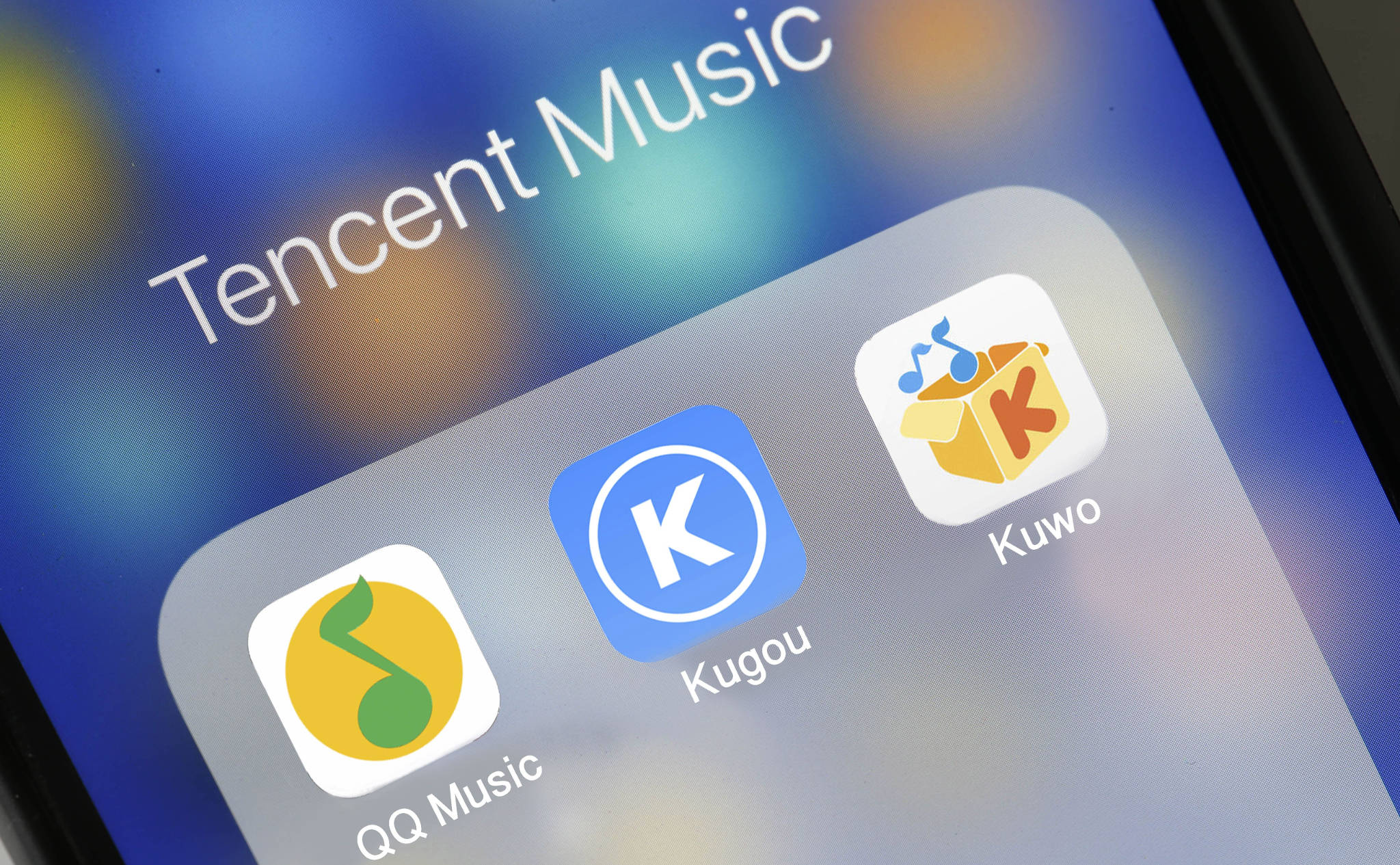 Tencent streaming music arm files for $1bn US listing