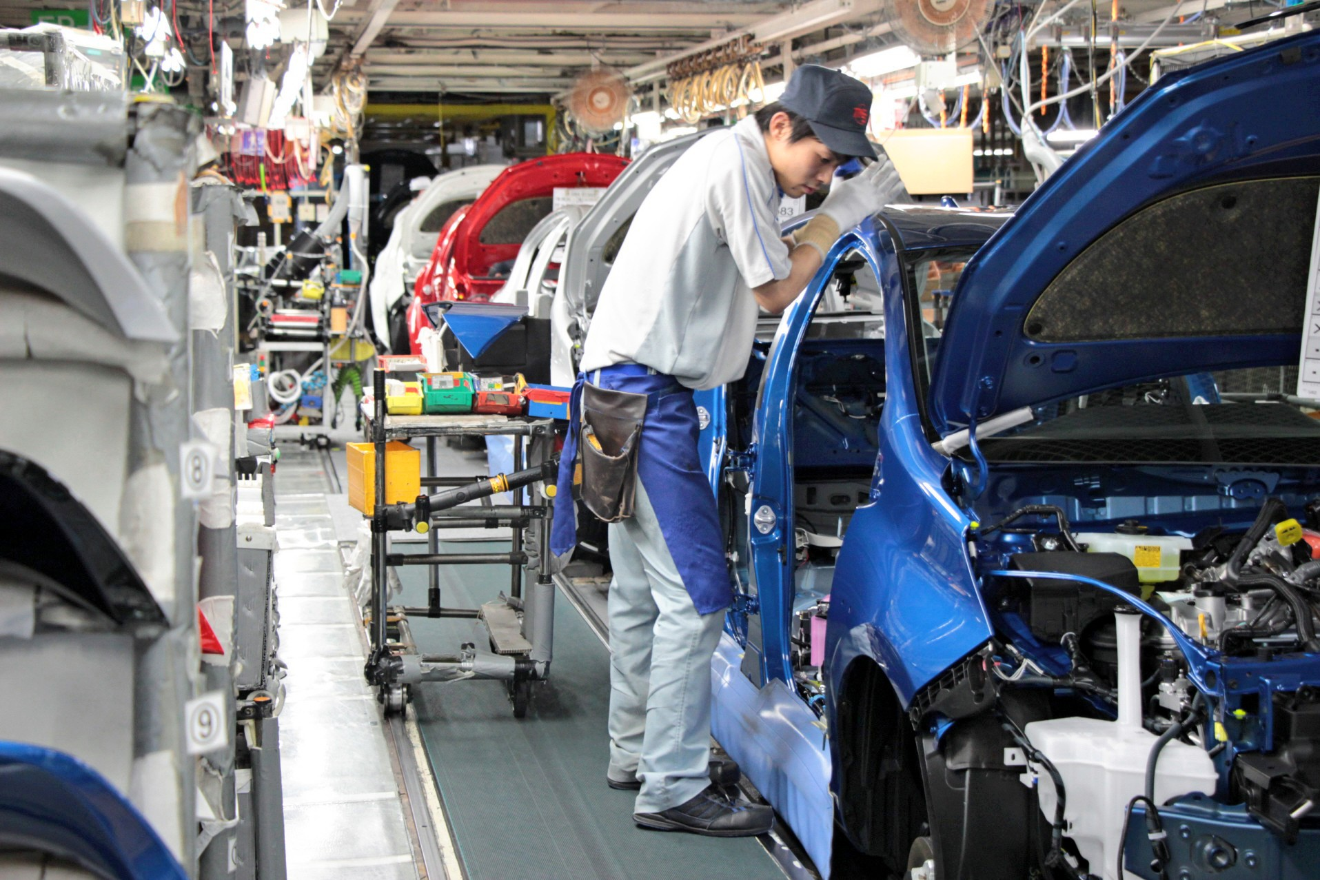 Toyota takes 'just-in-time' production to another level - Nikkei Asia