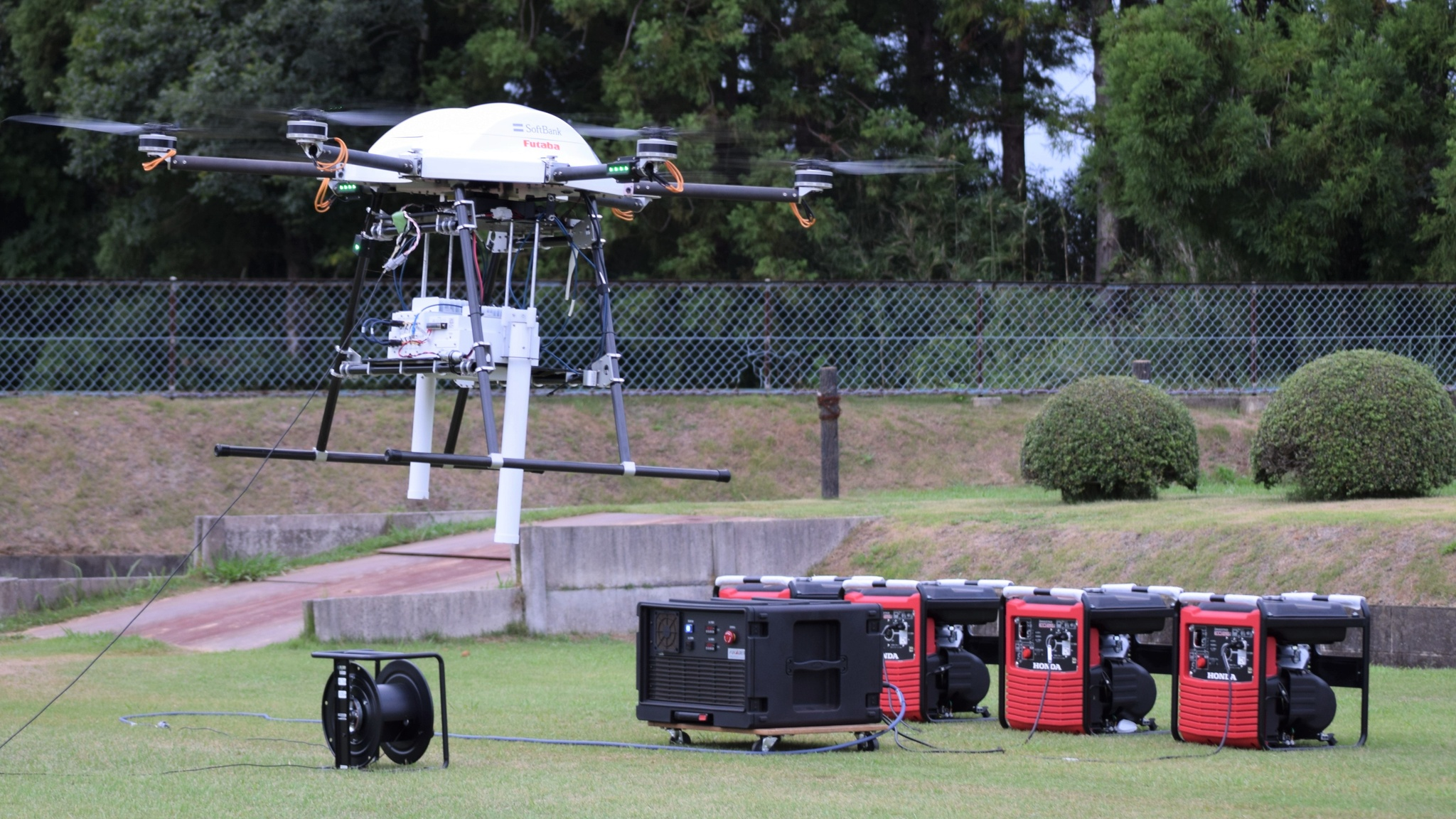 nikkei.com - Staff Writer - SoftBank's drones keep mobile network alive in disaster-hit Japan
