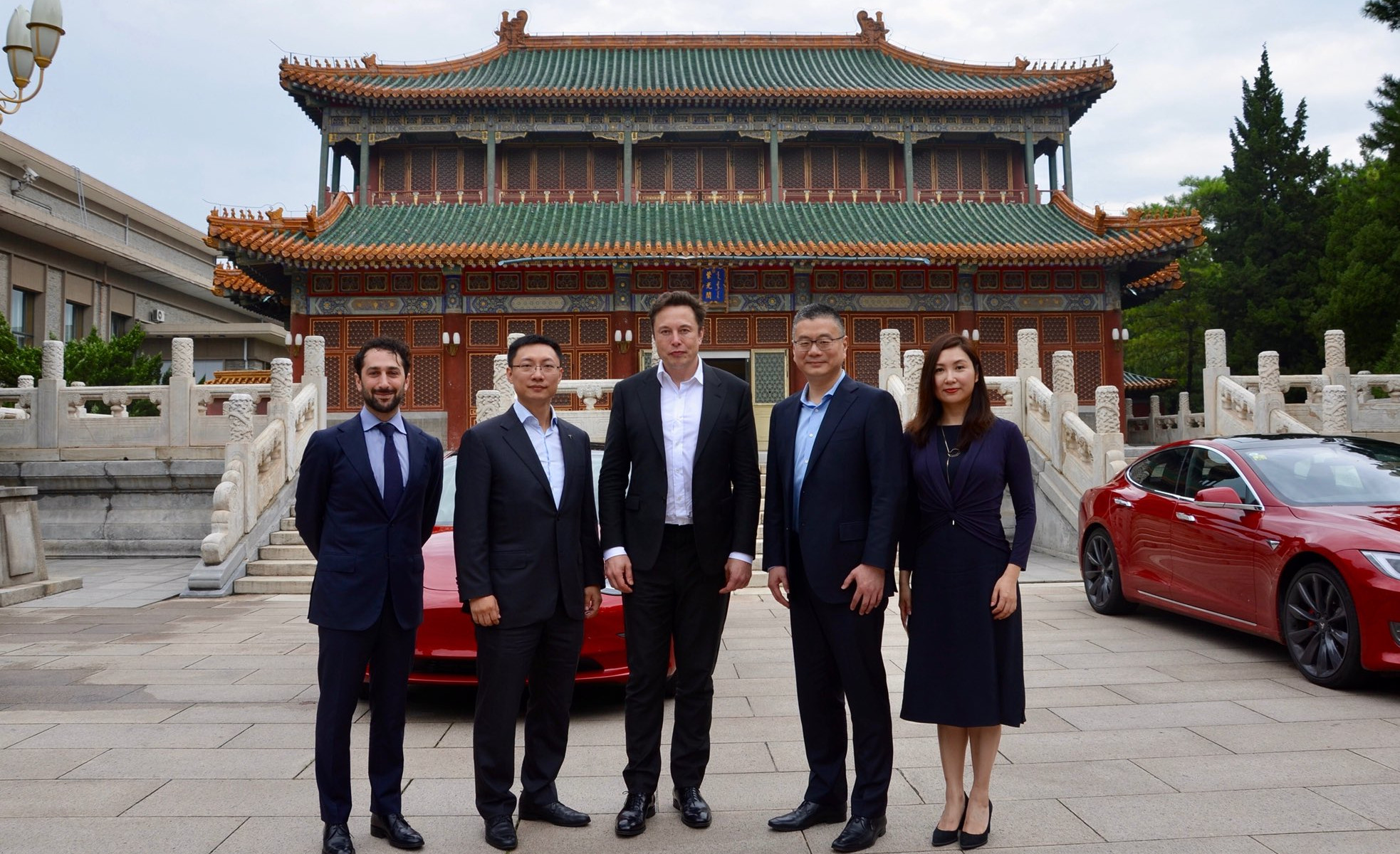 nikkei.com - Staff Writer - Teslas in the palace signal brewing battle in Beijing