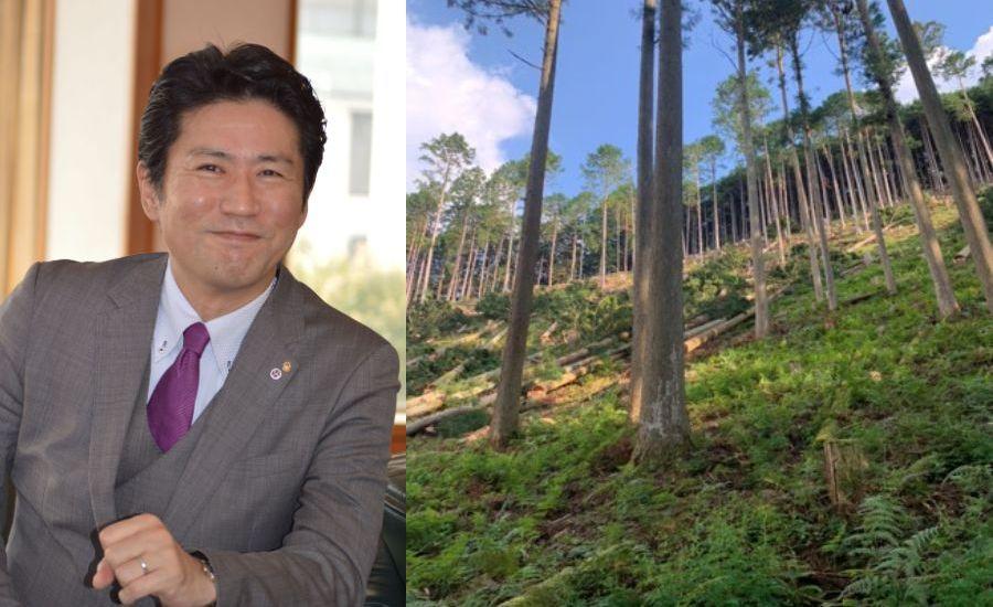 東京ドーム100個分の山林を伴う林業の事業承継 〜林業×エネルギー事業で、衰退の一途をたどる林業を再生させる!〜