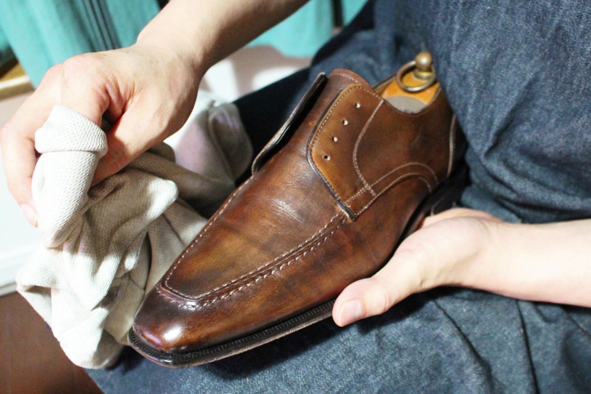 靴磨き店の譲渡
