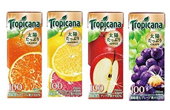 フルーツ100%ジュースセット【1日目用】
