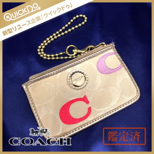 100% authentic 0373e 564ed コーチ COACH コインケース 小銭入れ パスケース カードケース ...