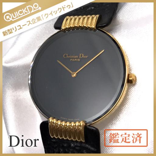 more photos 9946f 49206 Christian Dior クリスチャンディオール ブラックムーン 腕時計 ...