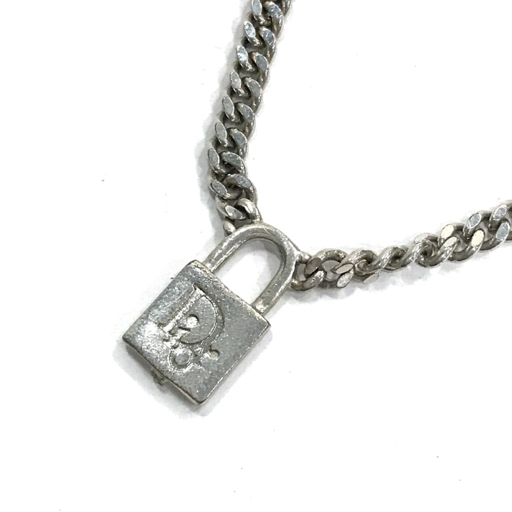 huge discount 1099c b8887 Christian Dior クリスチャンディオール 南京錠 モチーフ ...