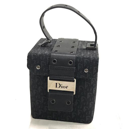 best website 071e7 18a5e ディオール Dior バニティバッグ メイクポーチ 黒系