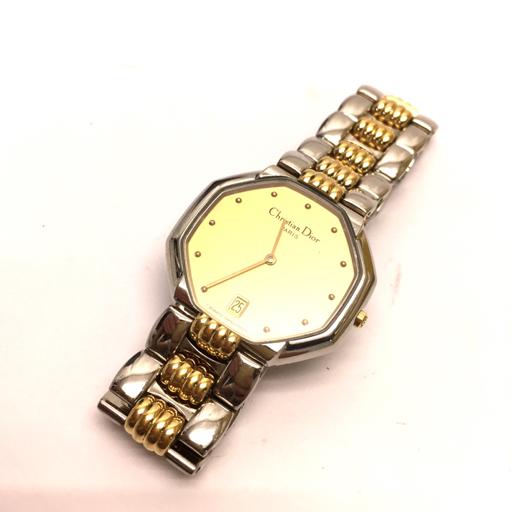 reputable site 40ebf bf758 クリスチャンディオール 腕時計 スウィング D45-204 デイト ...