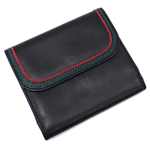 quality design e16b9 38930 グッチ Wホック 二つ折り 財布 がま口コインケース シェリー ...