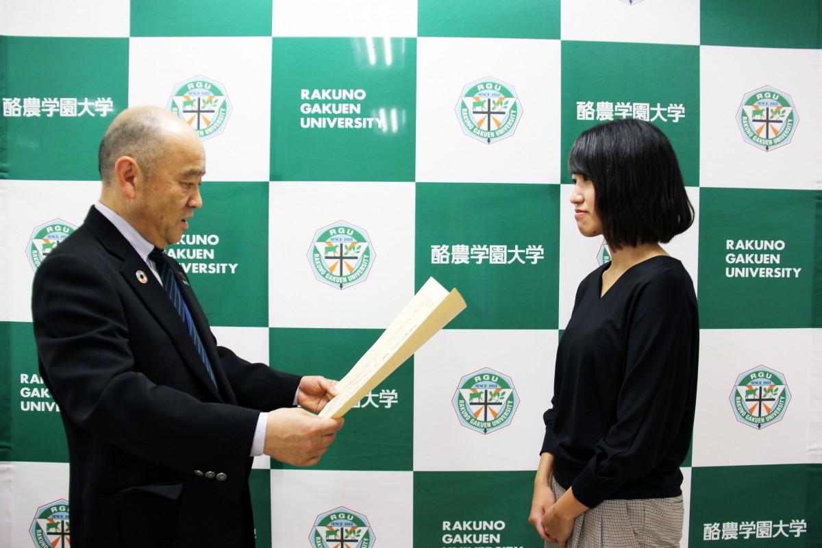 文部科学省「トビタテ!留学JAPAN日本代表プログラム」  第4回留学成果報告会で本学学生が優秀賞を受賞