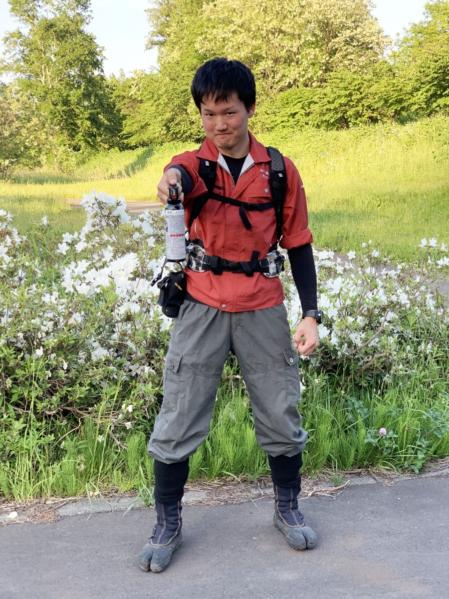 NHK『ほっとニュース北海道』の生中継  「出没情報が続発!ヒグマにご用心」に出演