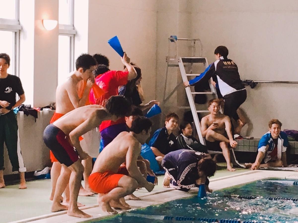 水泳部 酪泳会
