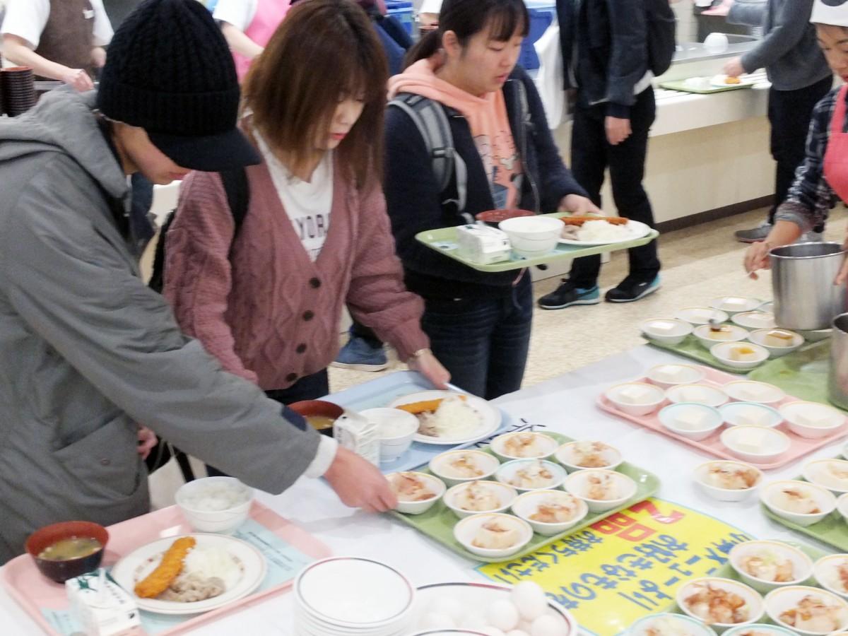 秋の食生活改善運動 ワンコイン (100円)朝食週間を実施