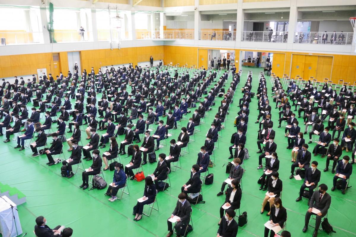 2021年度入学式を挙行