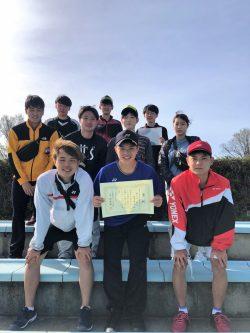 本学ソフトテニス部が第53回春季北海道学生ソフトテニス大会において男子2部優勝