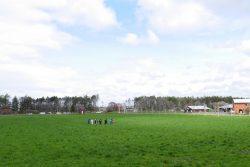 循環農学類の草地・飼料生産学研究室が学内牧草地で専門ゼミナール演習を実施(循環農学類 三枝俊哉教授)