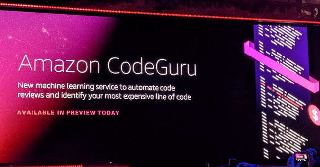 AWSのCodeGuruは機械学習を応用してコードレビューを自動化 | TechCrunch Japan