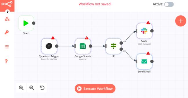 サービス同士を連携させて定型作業を自動化できるオープンソースの「n8n」はサーバー側のコマンドを使えば連携できるサービスは無限大の便利な自動化ツール