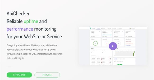 Webサイトのパフォーマンスを監視してくれる「API Checker」