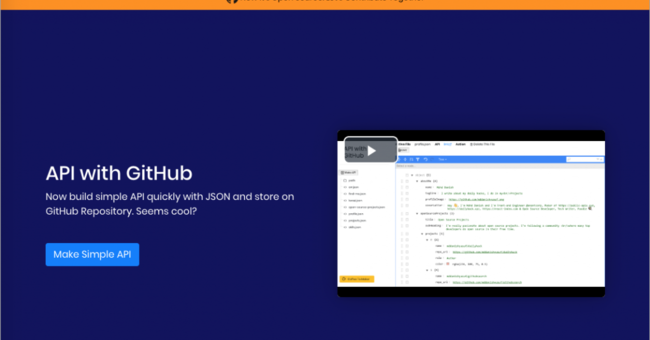 GitHubのリポジトリだけでAPIが作れる「APIs With GitHub」 | AnyPicks magazine