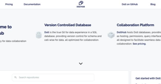 RDBデータ・スキーマのバージョンを管理できるオープンソース「Dolt」