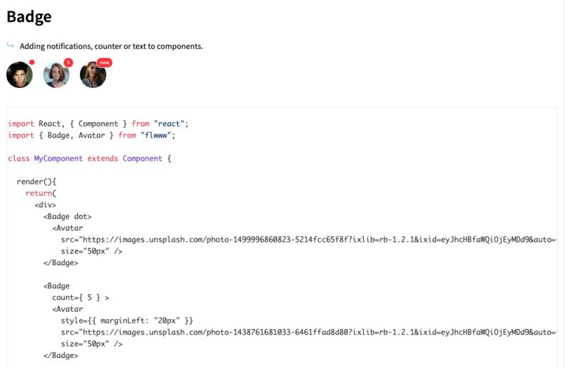 オープンソースのReact jsコンポーネントライブラリ「Flawwwless