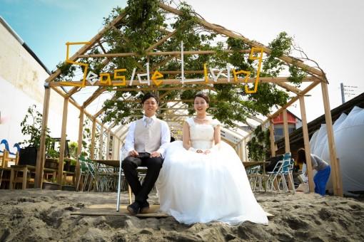 逗子で「Seaside Living」を営む。中田さん夫妻