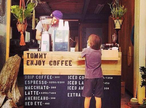 """""""トミー""""が淹れる""""エンジョイ""""な""""コーヒー"""""""