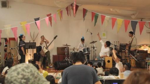 MATHERuBA 野外ライブイベント「おーくす おんざ ひる」