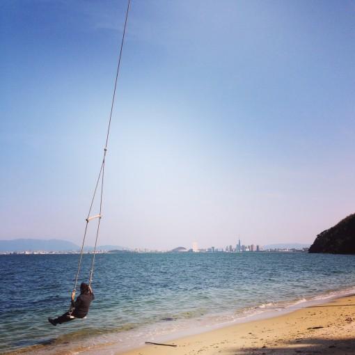 能古島、ほっこり気分でユル〜イ音楽祭