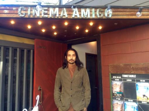 海はすぐそこ、レストランな映画館「CINEMA AMIGO(シネマ・アミーゴ)」