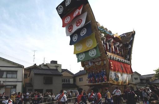 能登で1000年続く祭に参加する