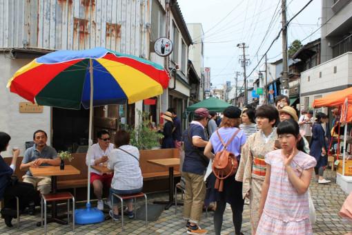 新竪町商店街がコーヒーの街と化す