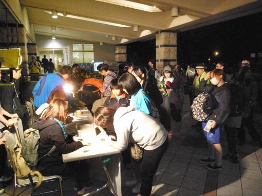 夜のピクニックin桜島