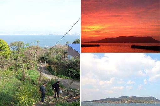 能古島に出合ったから。