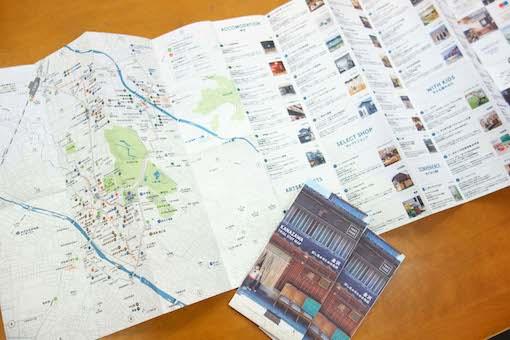 金沢を試し住みする地図、できました。