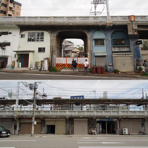 神戸の鉄道高架下に面白い人集まりはじめてます