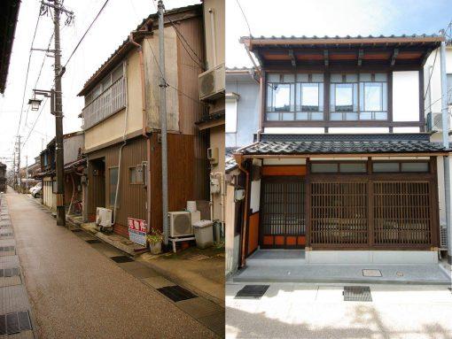 移住先の金澤町家が完成しました。