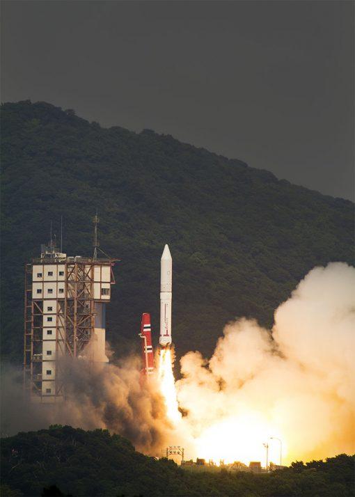 イプシロンロケット 2 号機打ち上げ!!