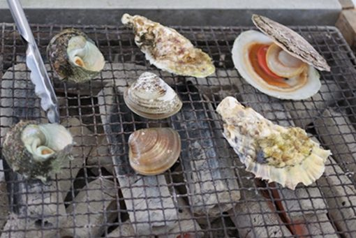 今が旬の'牡蠣小屋'へ行ってきました