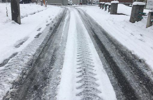 はじめての「雪道運転」