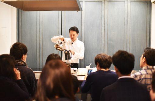 【長野】「バリスタのお仕事とは」丸山珈琲イベントレポート ~「心」を込めてコーヒーを淹れる~