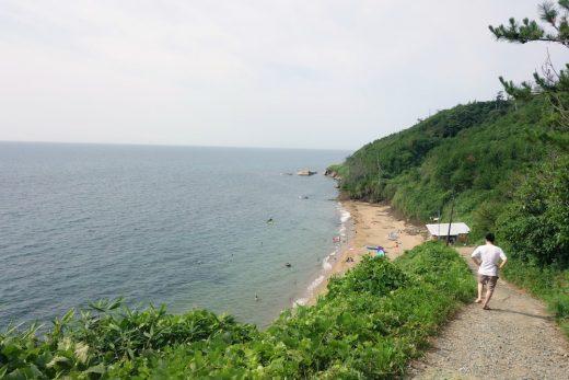 【加賀】青い海とビールとカキフライ。