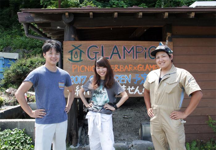 カフェバー〈GLAMPiC〉オープン!