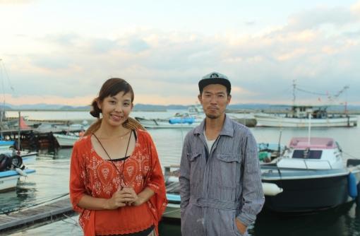 「生活」至上主義。畑も船も楽しむ、離島のアーティスト夫妻。