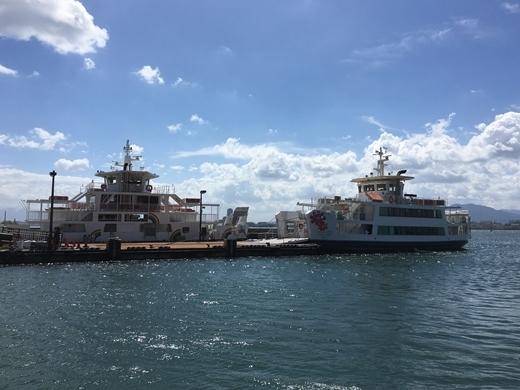 福岡市営渡船に乗って、能古島へ行ってきました2