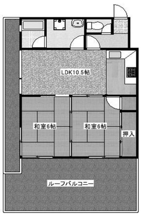福岡市中央区黒門 13万円 48.52㎡