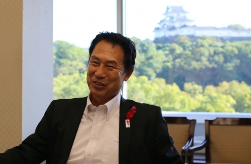 【和歌山】和歌山市長 尾花正啓氏インタビュー まちの水辺が賑わう秘密は、30年前にあった